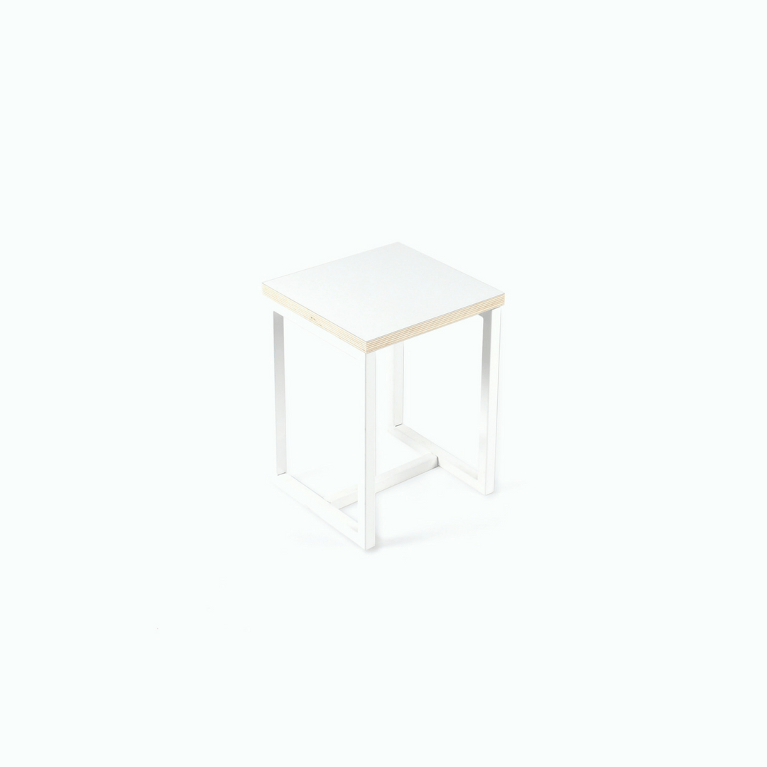 Nouga Stool - White - Project Nursery