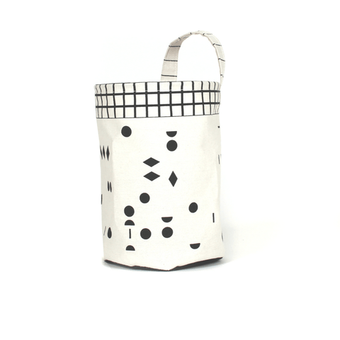 A to Z Small Tote & Bin