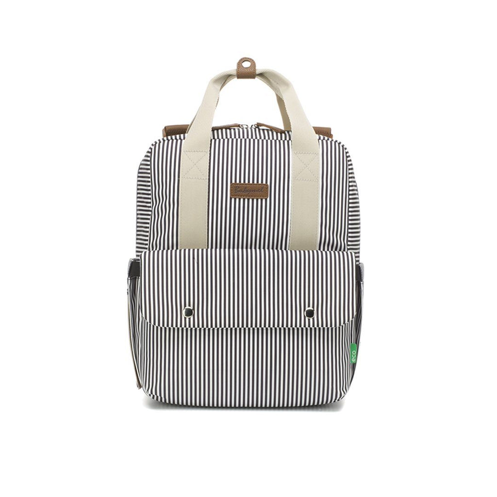 Georgie Eco Backpack - Navy Stripe - Project Nursery