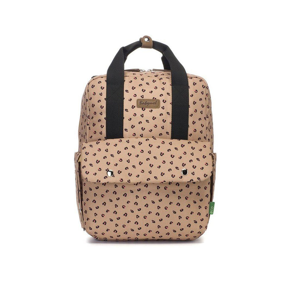 Georgie Eco Backpack - Carmel Leopard - Project Nursery