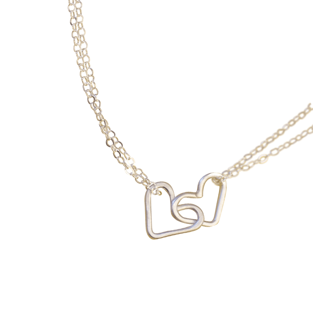 Interlocking Hearts Necklace  - The Project Nursery Shop - 1