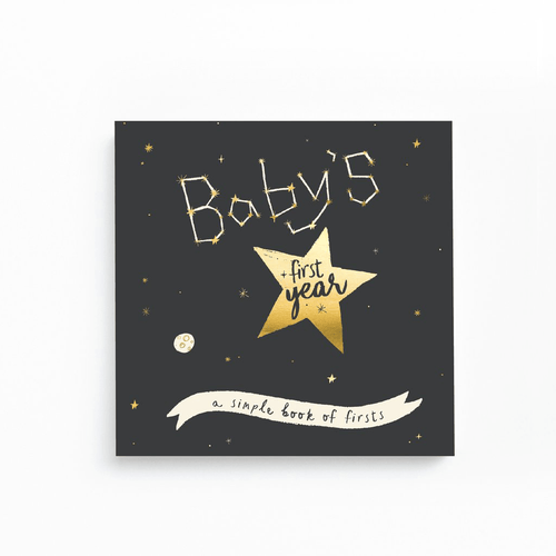 Golden Stargazer Memory Book - Project Nursery
