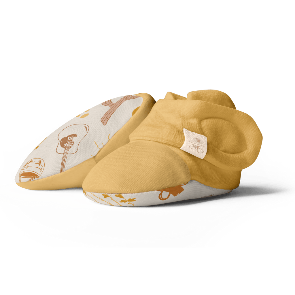 Goumi Kids Baby Boots - Ochre - Project Nursery