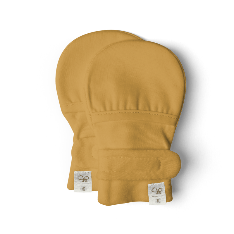 Goumi Kids Baby Mitts - Ochre - Project Nursery