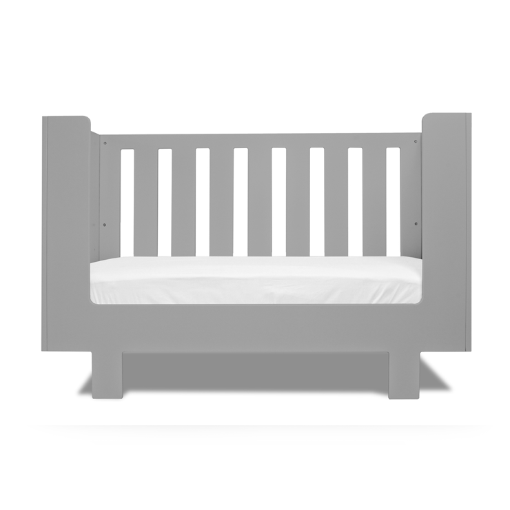 Eicho Crib Conversion Gray - The Project Nursery Shop - 1