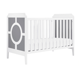 Poppy Regency 3-in-1 Convertible Crib Grey - The Project Nursery Shop - 1