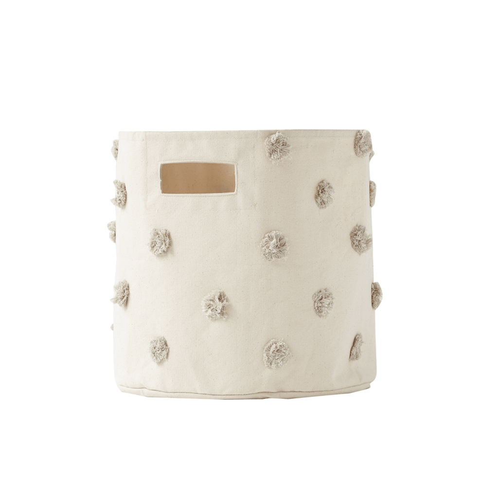 Pom Pom Storage Bin Grey - The Project Nursery Shop - 2