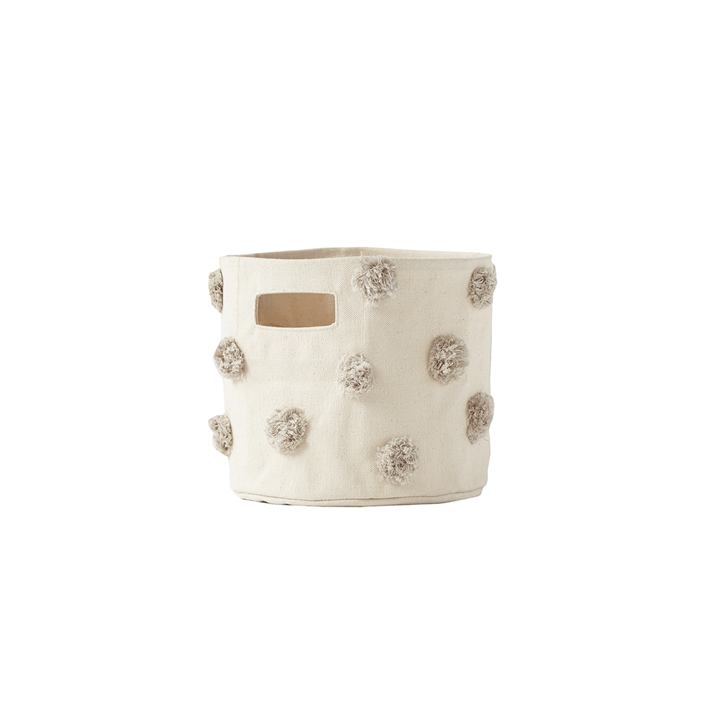 Pom Pom Storage Mini Grey - The Project Nursery Shop - 3