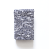 Grey Textured Swaddle Blanket