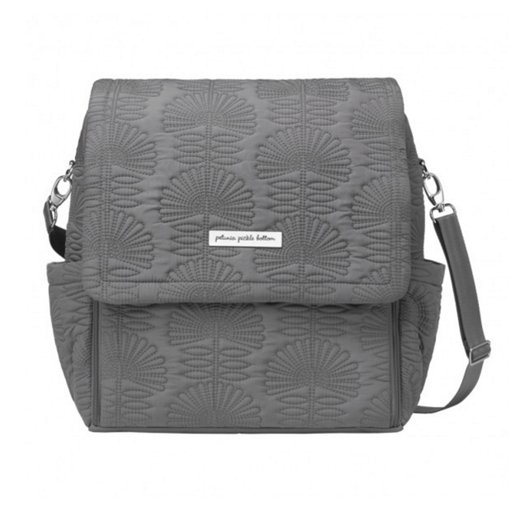 Boxy Backpack Embossed