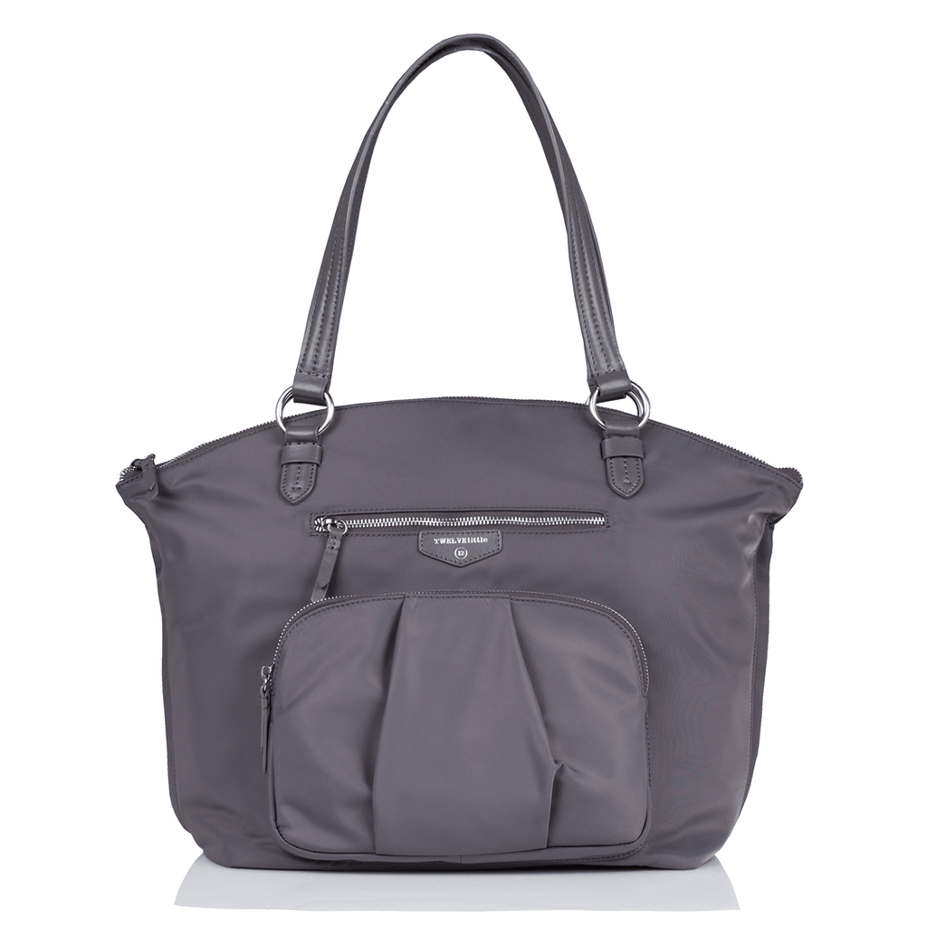 Allure Dome Satchel Grey - The Project Nursery Shop - 2