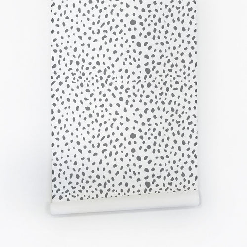 Dalmatian Spots Wallpaper - Project Nursery