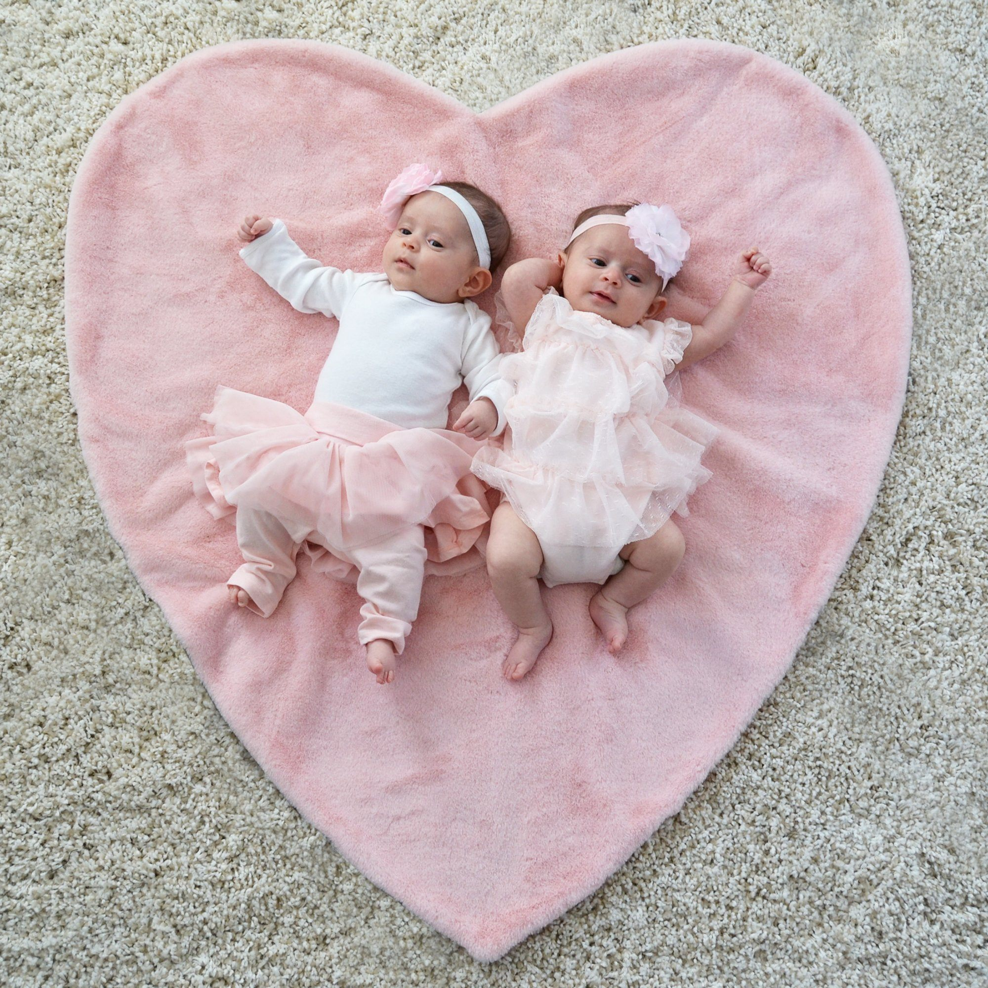 Plush Heart Shaped Blanket - Project Nursery