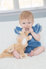 Happy Sidekick Teething Lovey - Ruthie Roo - Project Nursery