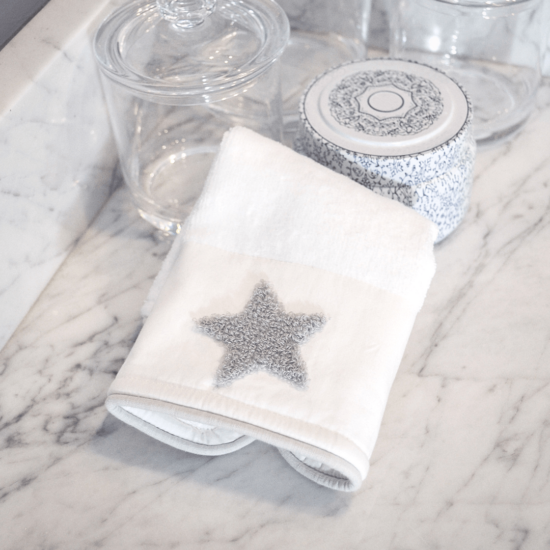 Organic Cotton Washcloth Set - Boucle Star - Project Nursery