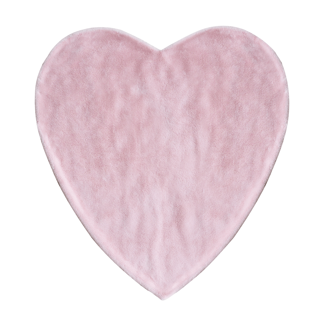 Hello spud heart shaped blanket