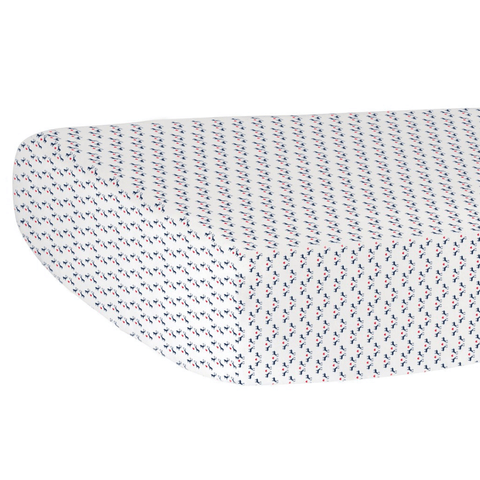 Zigzag Crib Sheet