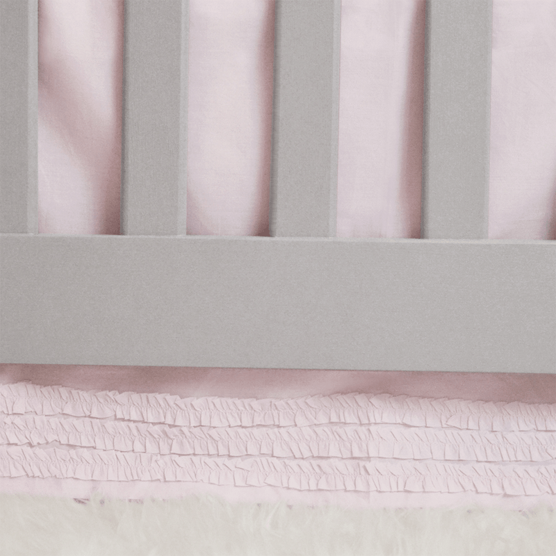 Petite Ruffle Cotton Crib Skirt - Project Nursery