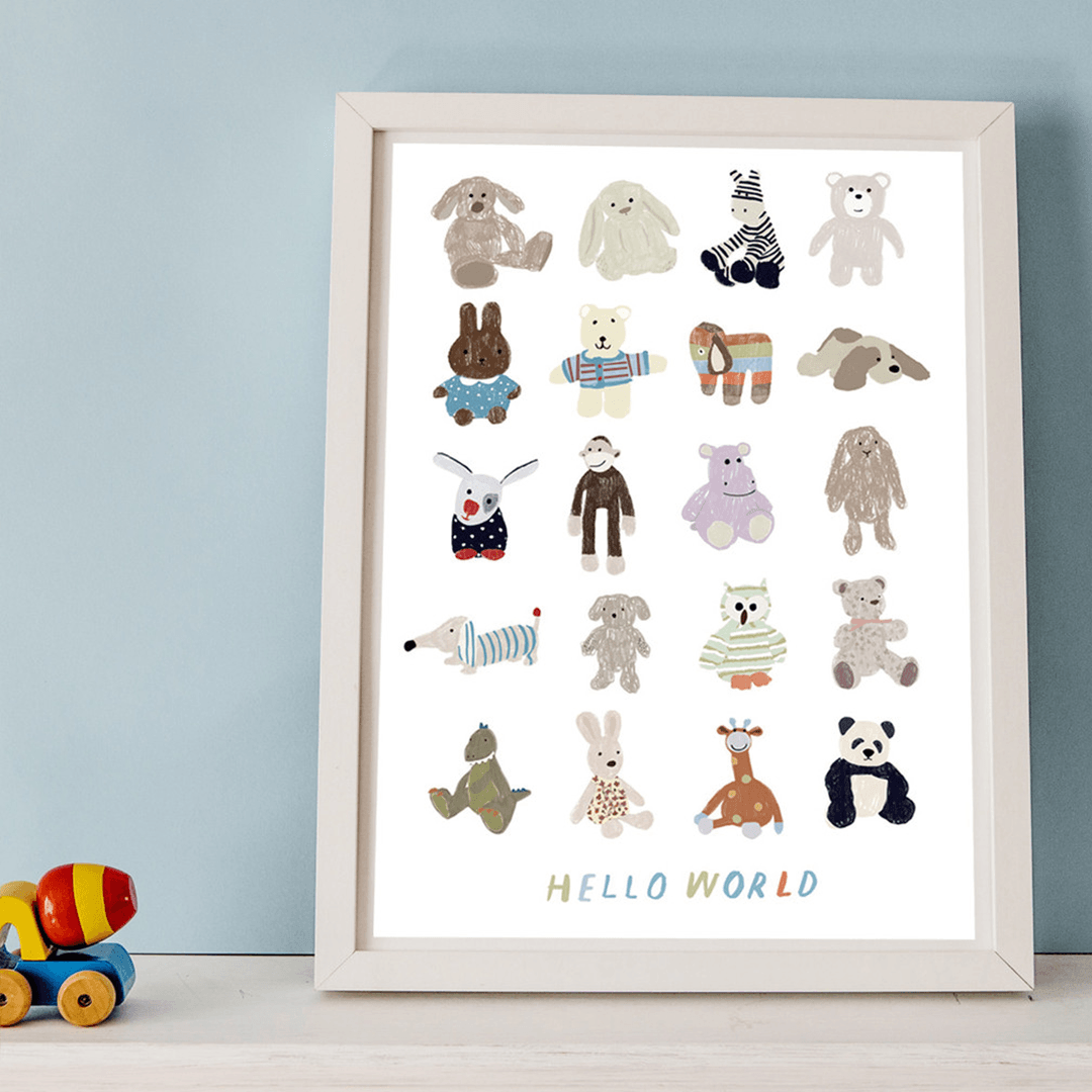 Hello World Baby Print - Project Nursery