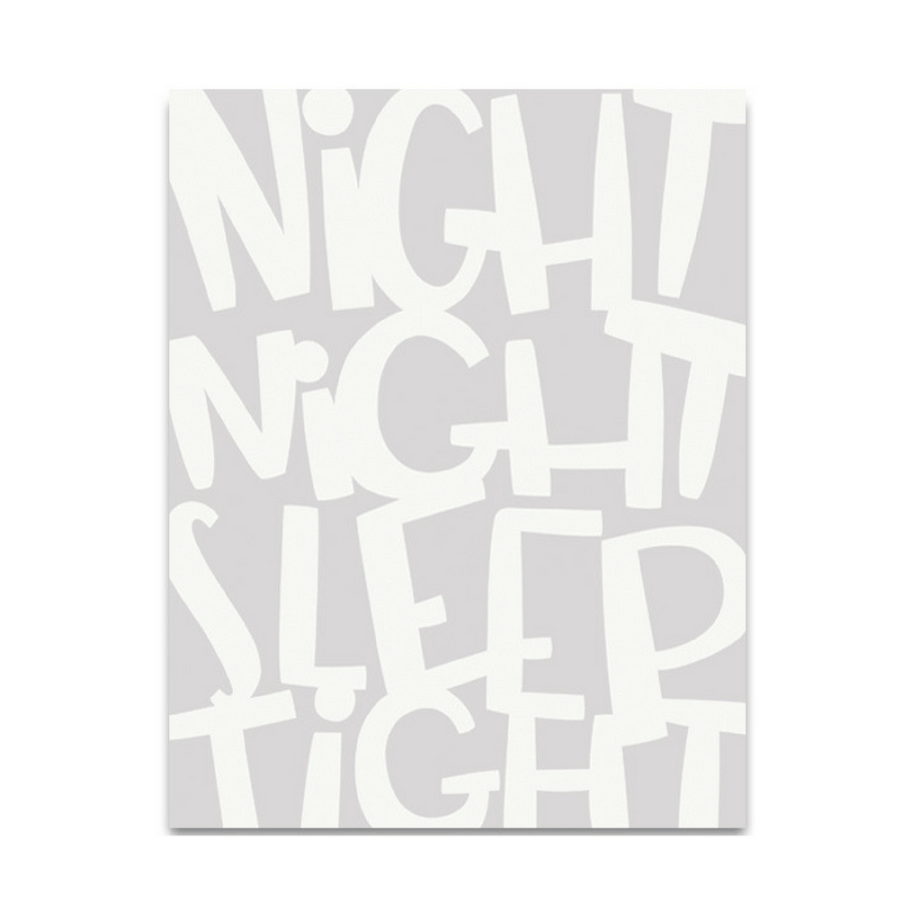 Night Night Fine Art Print - Project Nursery