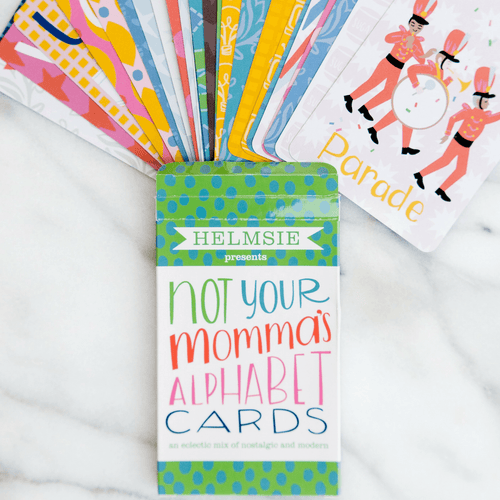 Not Your Momma's Alphabet Cards - Project Nursery