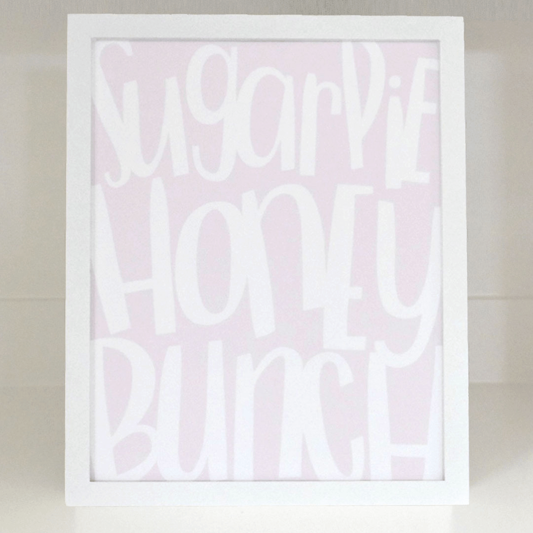 Sugar Pie Fine Art Print - Project Nursery