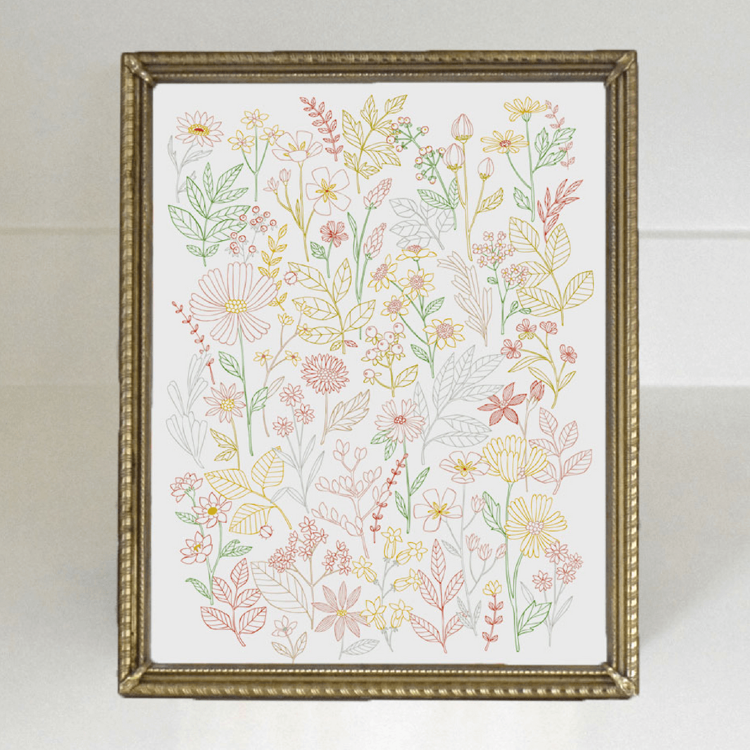 Wildflower Fine Art Print - Project Nursery