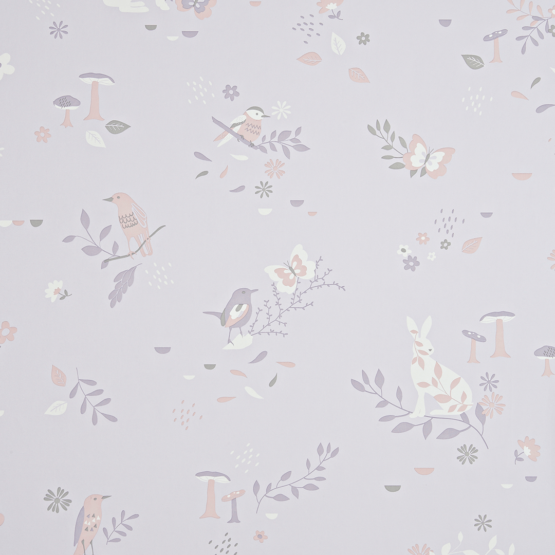Secret Garden Wallpaper Wallpaper Blush Pink Baby