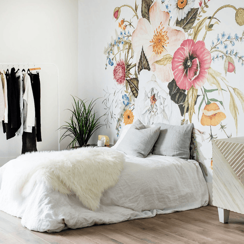 Honey Bloom Wallpaper Mural - Project Nursery