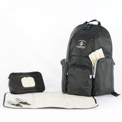Free Spirit SP Diaper Backpack - Onyx - Project Nursery