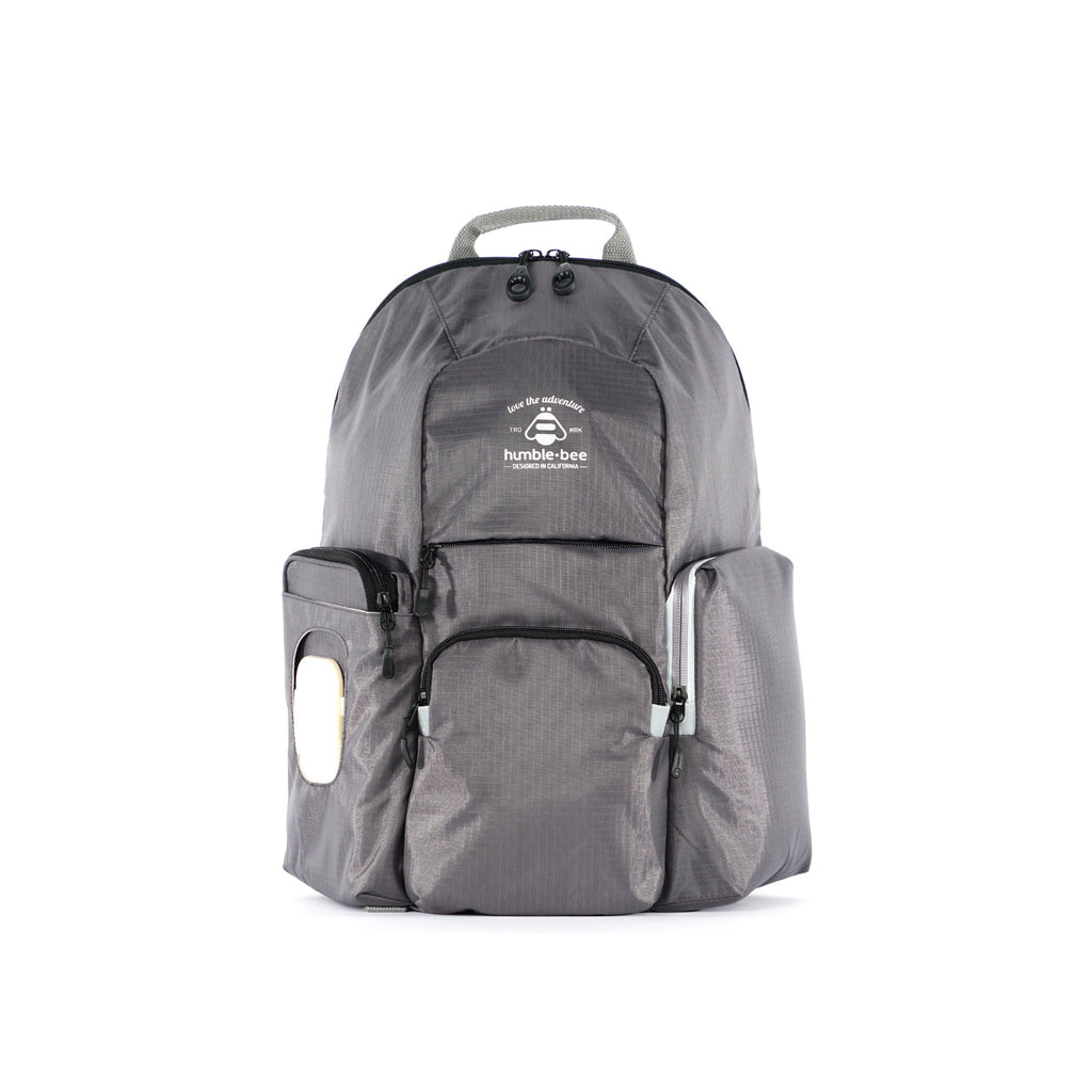 Free Spirit SP Diaper Backpack - Pebble - Project Nursery