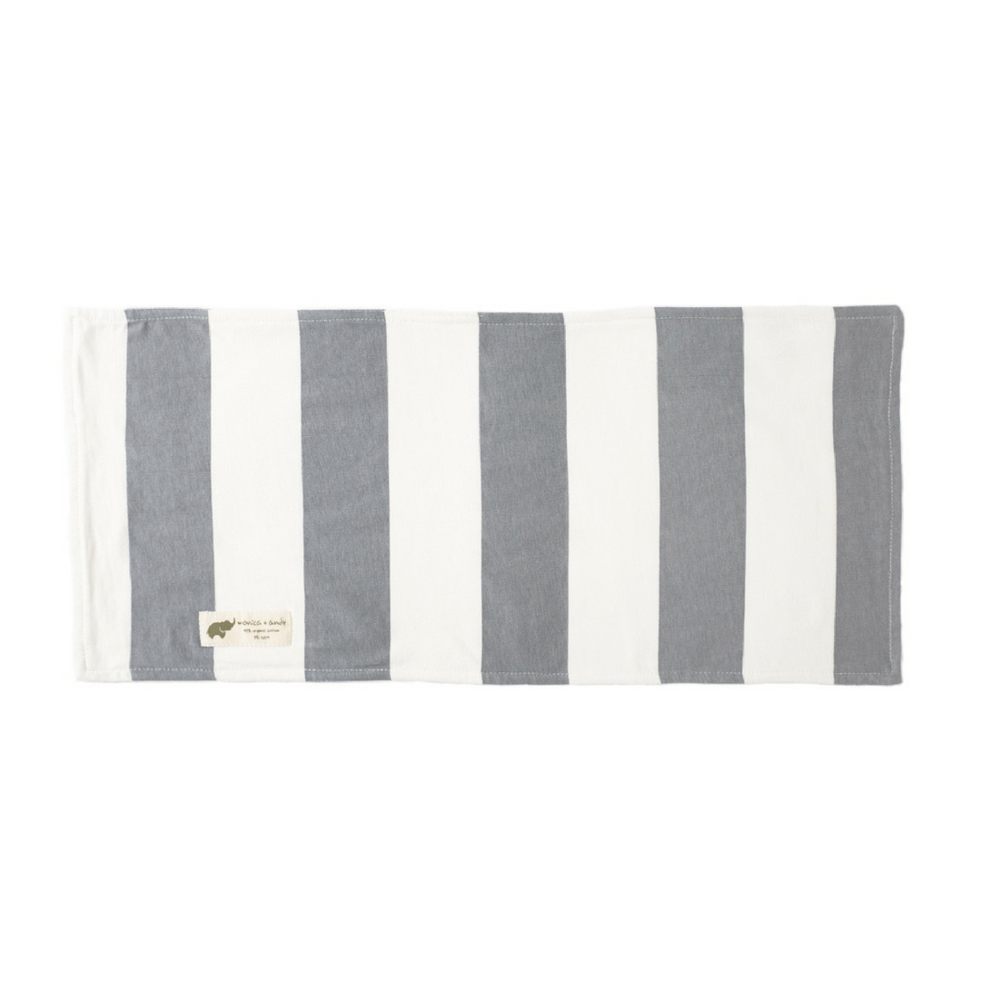 Cotton Burp Cloth - Stripe - Project Nursery
