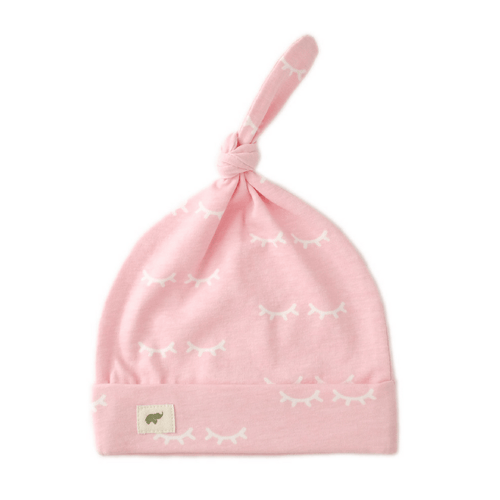 Top Knot Cap - Pink Wink - Project Nursery