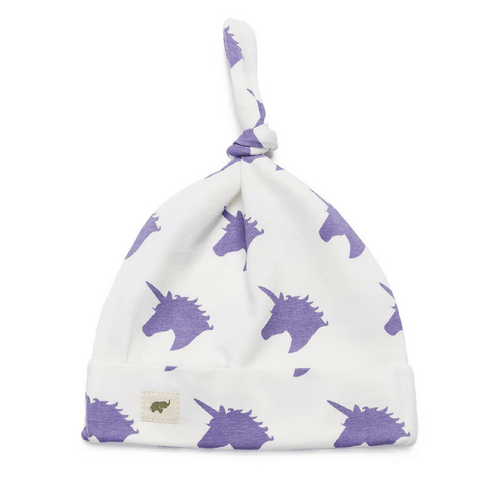 Top Knot Cap - Unicorn - Project Nursery