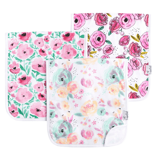Bloom Burp Cloth Set - Project Nursery