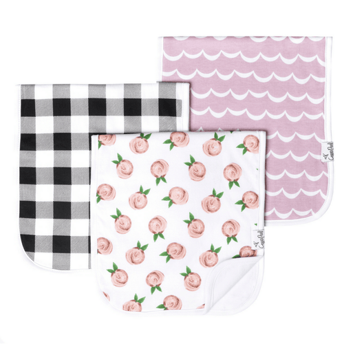 Rosie Burp Cloth Set - Project Nursery