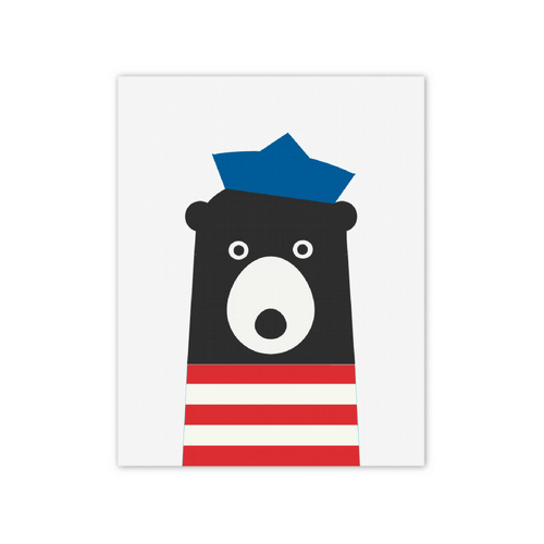 Breton Bear Print - Project Nursery