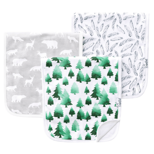 Woodland Burp Cloth Set - Project Nursery