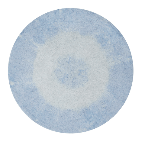Faux Sheepskin Round Area Rug