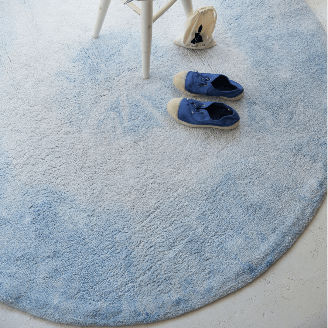 Tie-Dye Rug - Project Nursery