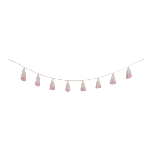Pom Pom Tie-Dye Garland - Project Nursery