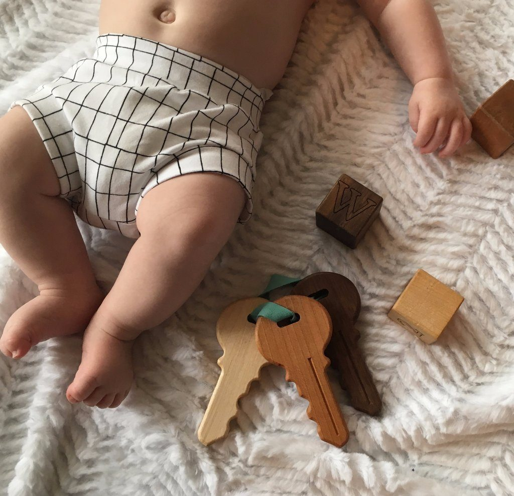 Wooden Toy Keys - Project Nursery