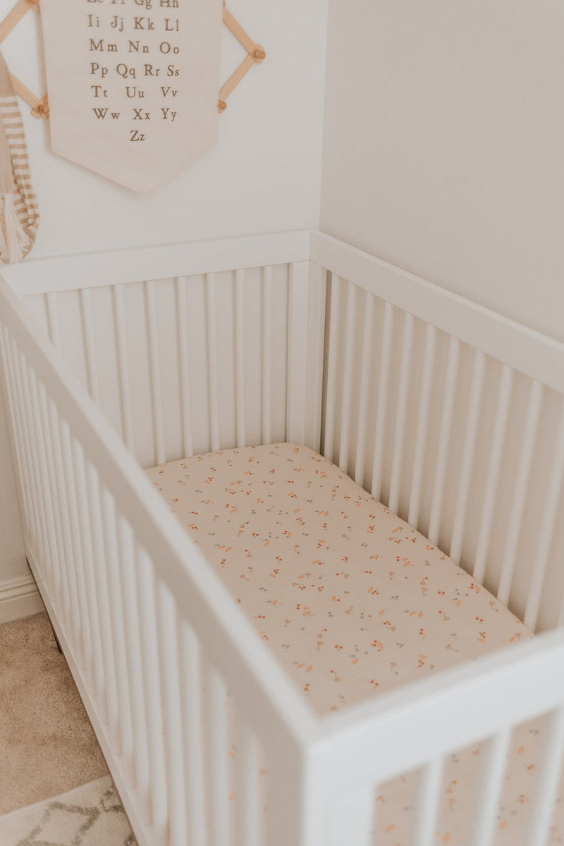 Bloom Crib Sheet - Project Nursery