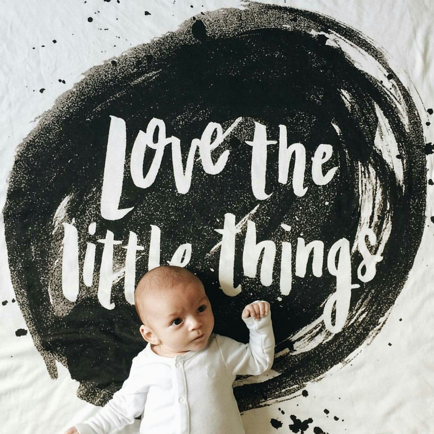 'Little Things 2.0' Organic Cotton Knit Blanket - Project Nursery