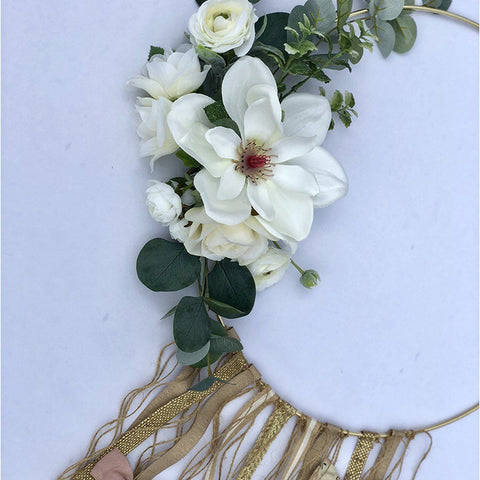 Rose Gold Metallic Knot Headband