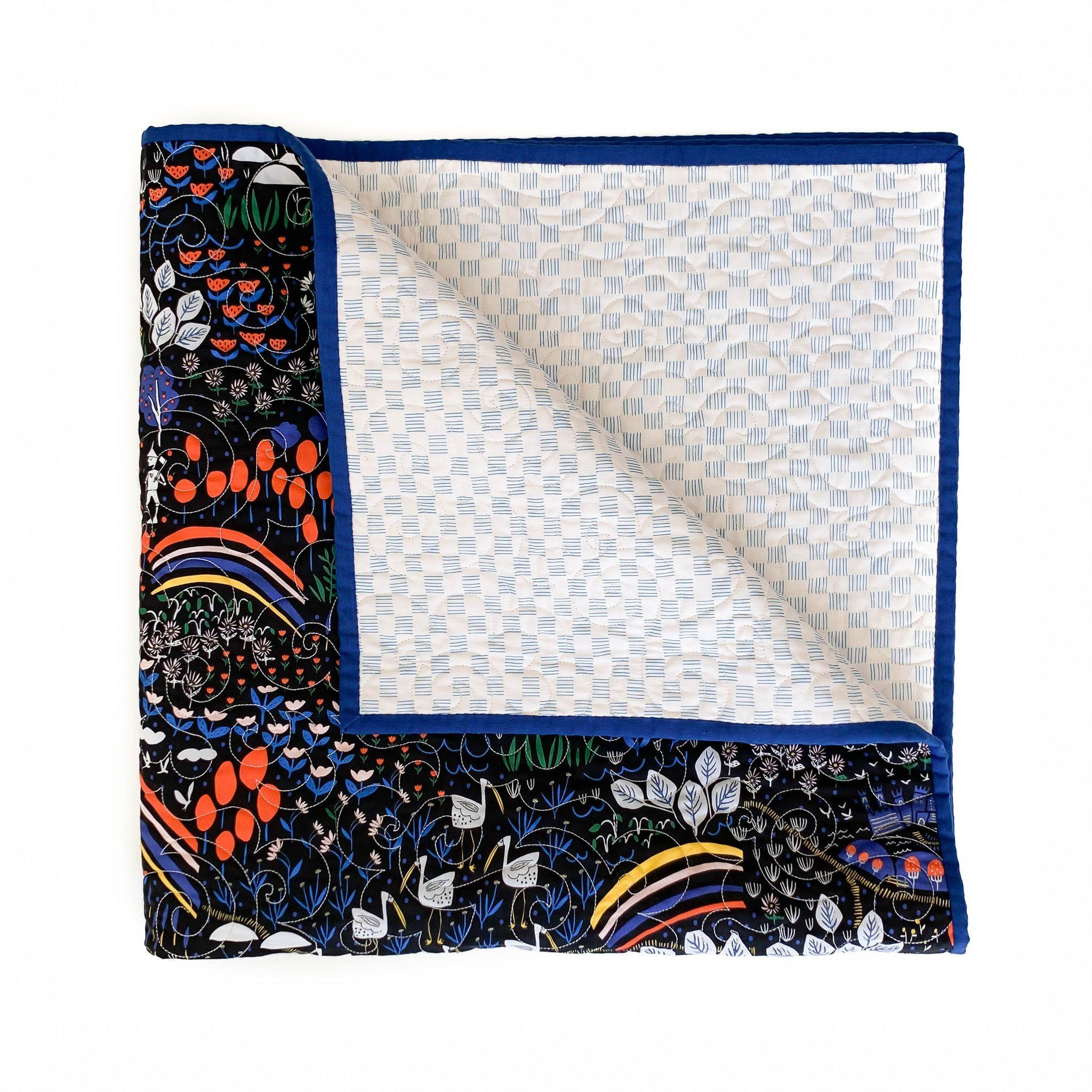 No Place Like Home Organic Quilt - Oz - Project Nursery