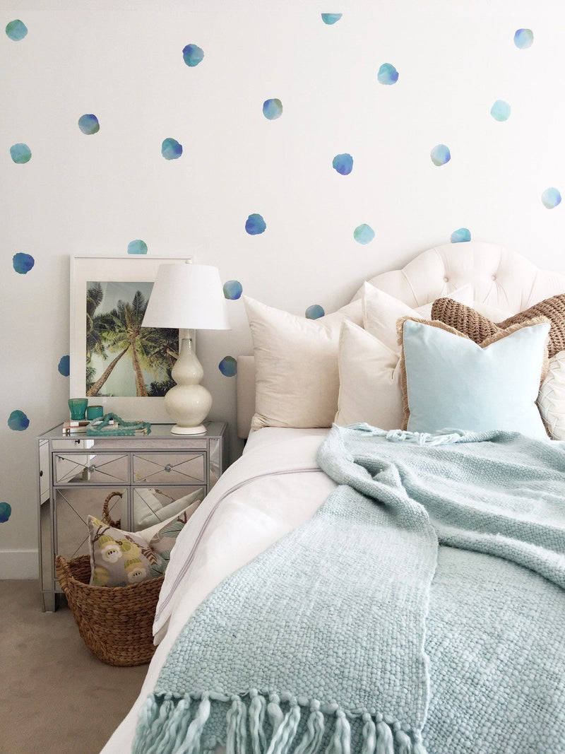 Watercolor Polka Dots Wall Decals - Project Nursery
