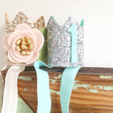 Mini Sparkle Crown - Blush & Gold  - The Project Nursery Shop - 5