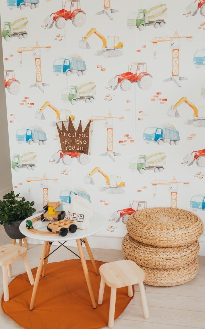 Bobby Wallpaper - Project Nursery