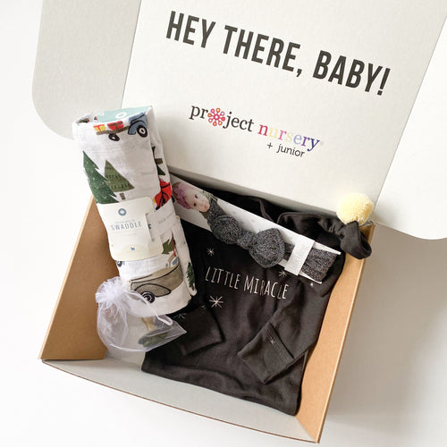 PN Holiday Miracle Baby Box - Project Nursery